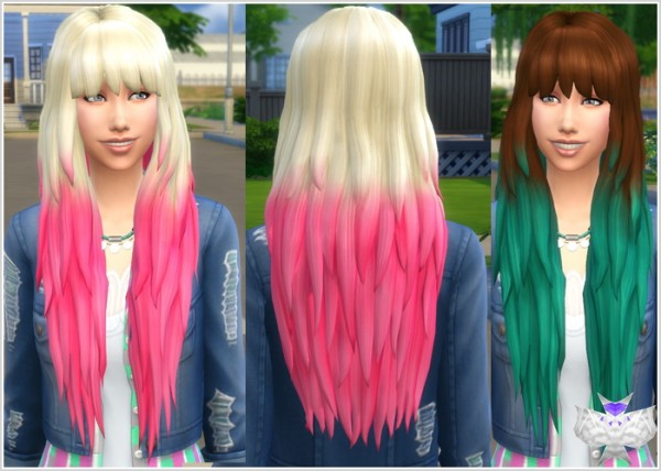 David Sims: Get Together Hair for Sims 4