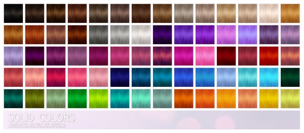 Aveira Sims 4: Newsea`s Hell on Heels hair retextured for Sims 4