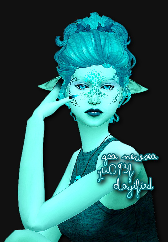 Sims 4 Hairs Simsworkshop Newsea S Yu093f Clayified