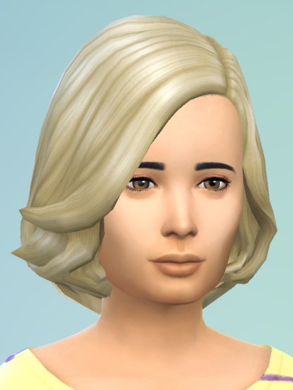Birksches sims blog: Soft wavy hair for girls for Sims 4