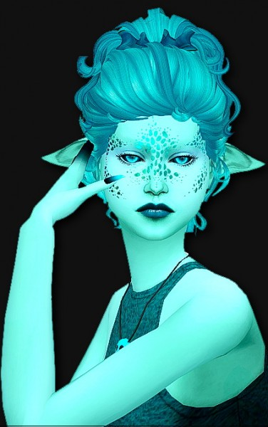 Simsworkshop: NewSea`s YU093f Clayified retextured by grilledcheese aspiration for Sims 4