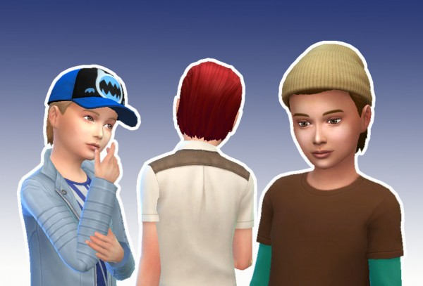 Mystufforigin: Short Wet for Boys for Sims 4