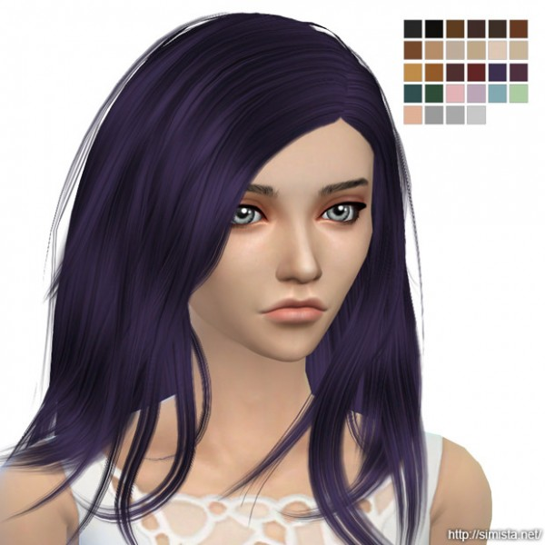 Simista: Stealthic`s Baby Doll hair retextured for Sims 4