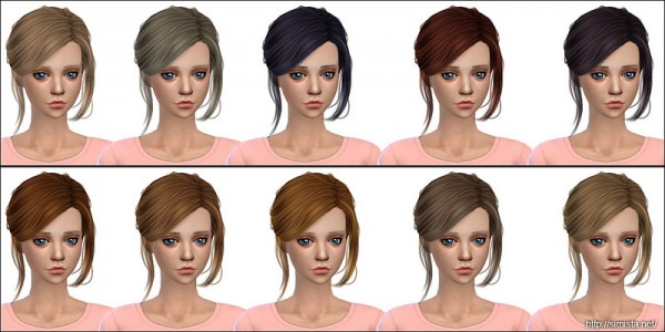 Simista: Stealthic`s Envy hair retextured for Sims 4
