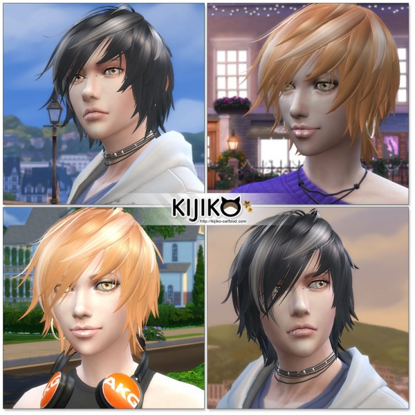 Kijiko Sims: Toyger Kitten TS4 edition for her for Sims 4