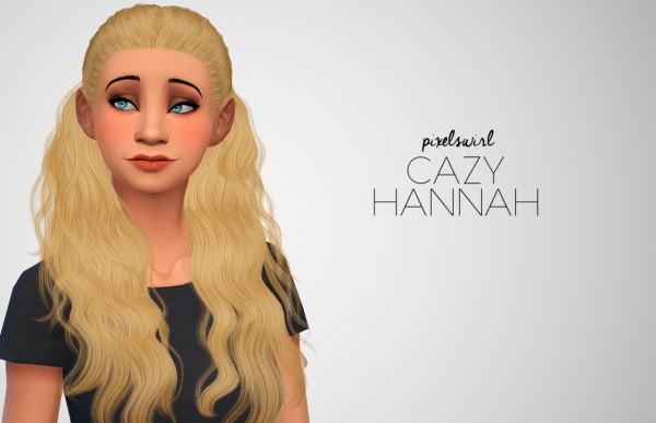 Swirl Goodies: Hairs retextured for Sims 4