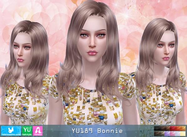 NewSea: YU189 Bonnie Hair for Sims 4