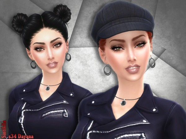 Sintiklia Sims: Hair 34 Dayana for Sims 4