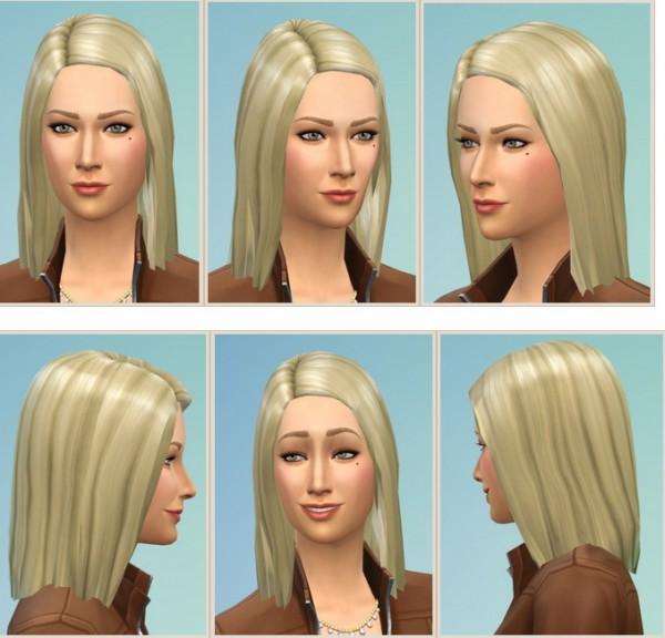 Birksches sims blog: Margot Hair for Sims 4