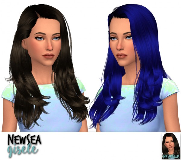 Nessa sims: Newsea`s Emma Swan, Gisele and swan for Sims 4