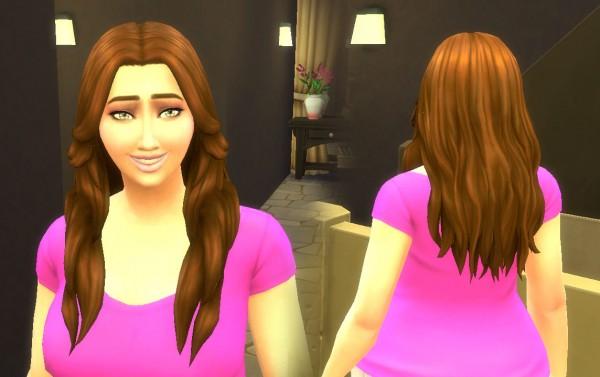 Mystufforigin: Valentine Gift hairstyle for Sims 4