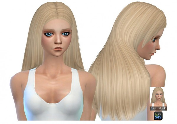 Simista: Nightcrawler`s Lydia hair retextured for Sims 4