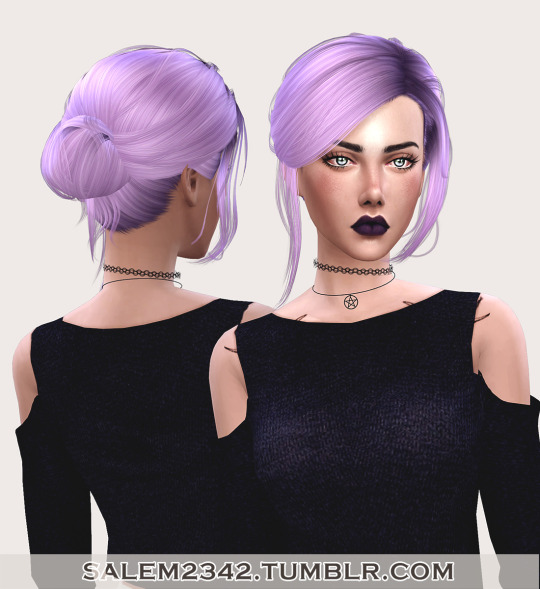 Salem2342: Stealthic`s Envy hair retextured for Sims 4