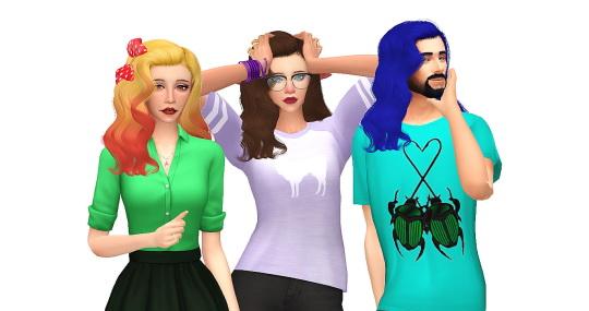 Simsworkshop: Anto`s Omen Retexture by Amarathinee for Sims 4