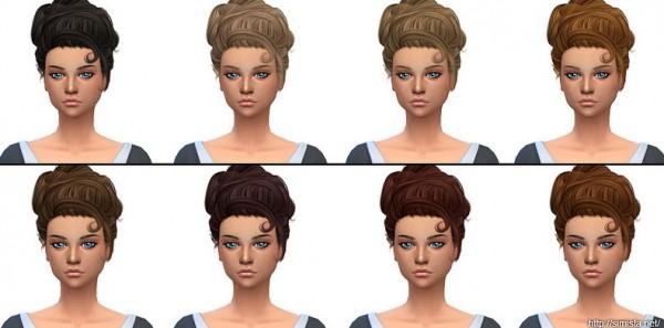Simista: Stealthic`s Lovesick hair retextured for Sims 4