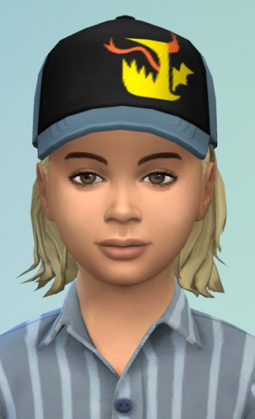 Birksches sims blog: Little Ricco Hair for Sims 4