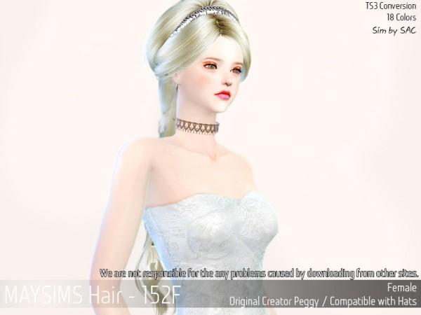MAY Sims: May Hair 152F for Sims 4