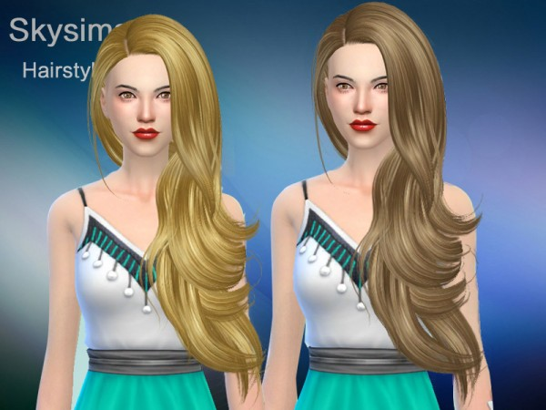 The Sims Resource: Hair 284 by Skysims for Sims 4