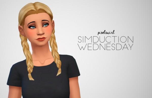 Swirl Goodies: Hair dump for Sims 4