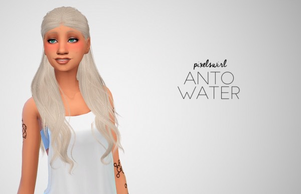 Swirl Goodies: Hair dump for Sims 4