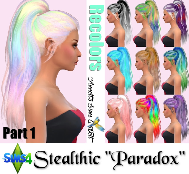 Hair Colors For The Sims4 Hairstylegalleries Com