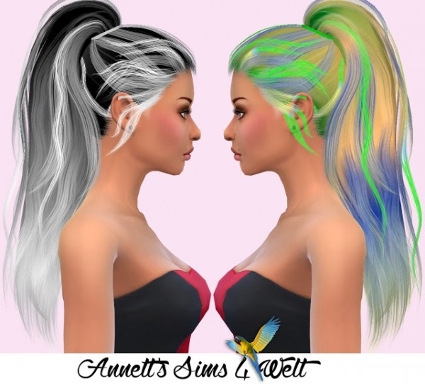 Annett`s Sims 4 Welt: Stealthic`s Paradox hair recolors for Sims 4