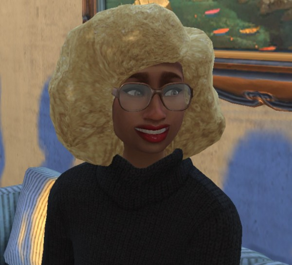 Mod The Sims: Natural Curly Afro Hair by cattishcats for Sims 4