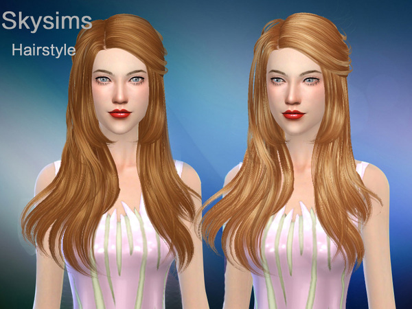 The Sims Resource: Hair 054 by Skysims  for Sims 4