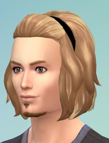 Birksches sims blog: Halfup Medium hairs for Sims 4