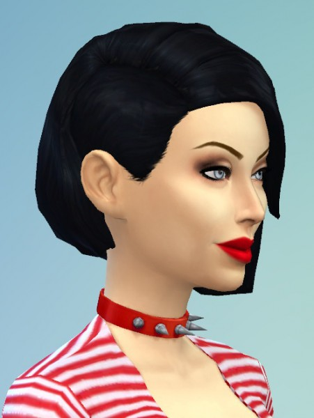 Birksches sims blog: Shaved Bob for her for Sims 4