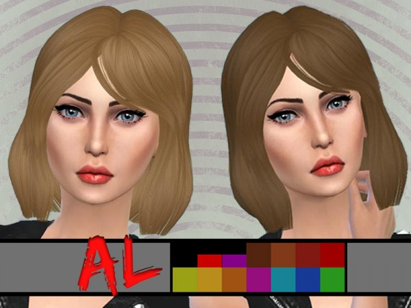Arthurlumierecc: Firefly hair converted from TS3 to TS4 for Sims 4