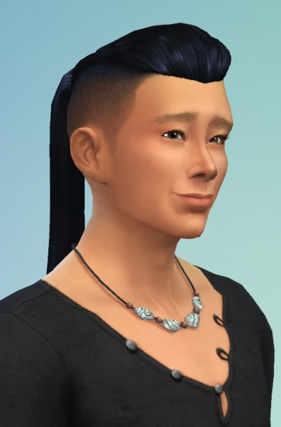 Birksches sims blog: Lim Hair for him for Sims 4