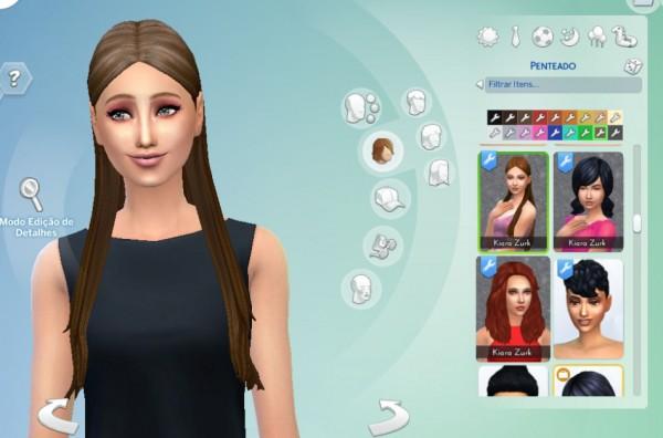 Mystufforigin: Tender Hairstyle for Sims 4