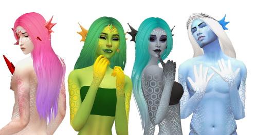 Simsworkshop: Nightcrawler`s GUY retextured by Amarathinee for Sims 4