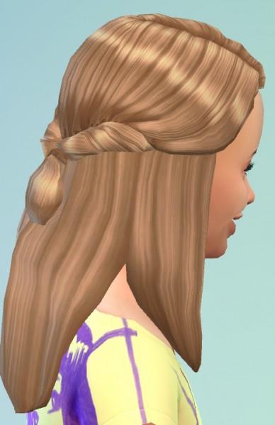 Birksches sims blog: Little Ronja Hair for Sims 4