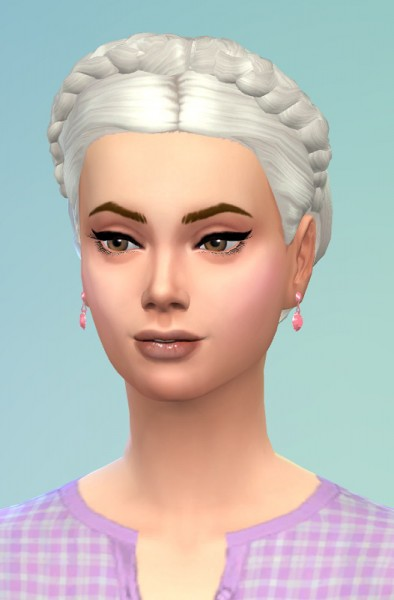 Birksches sims blog: Braided Hair Wreath for her for Sims 4