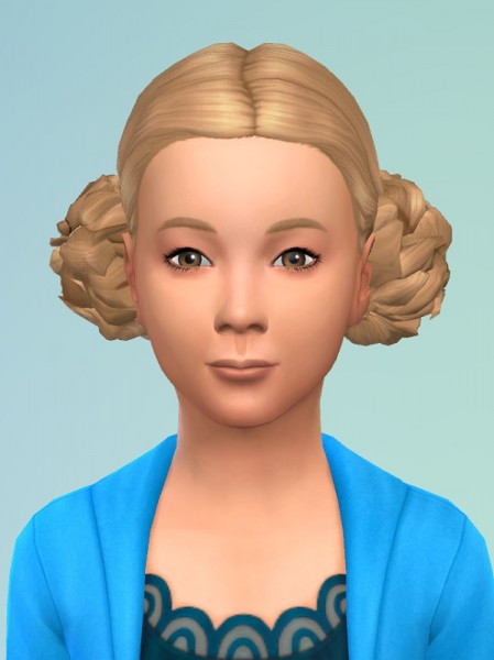 Birksches sims blog: PomPom Hair for Sims 4