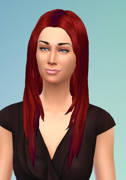 Birksches sims blog: Long Smooth Hair for Sims 4