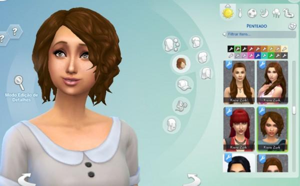 Mystufforigin: Delirioushair for Sims 4