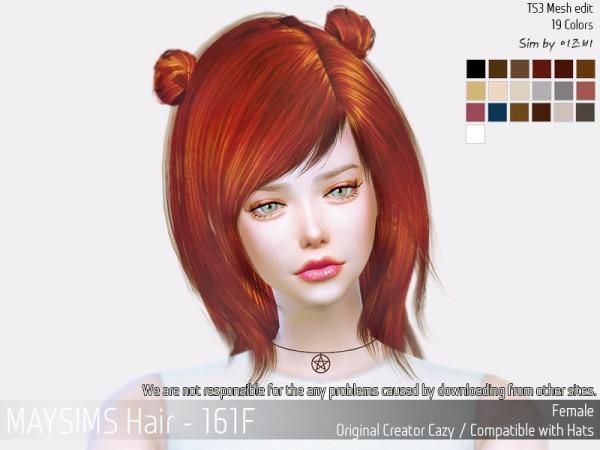 MAY Sims Sims: May Hair 161F for Sims 4