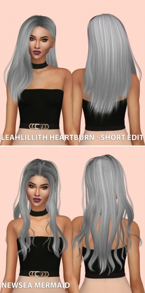 Hallow Sims: Hair dump 2 for Sims 4
