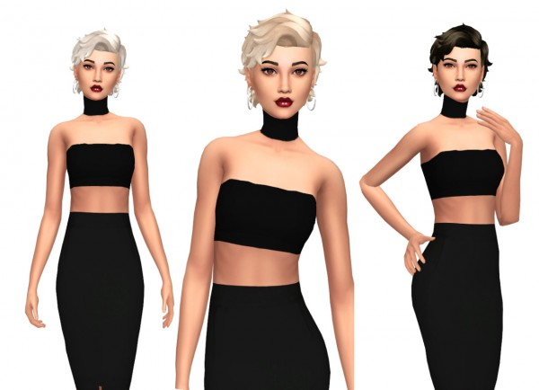 Sims Fun Stuff: Kiara`s Med Relaxed hair retextures for Sims 4