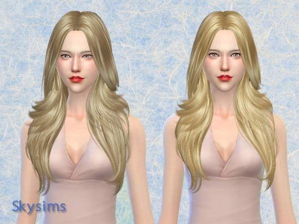 Butterflysims: Hair 081 by Skysims for Sims 4