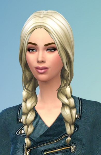 Birksches sims blog: Braids for Her and Him for Sims 4