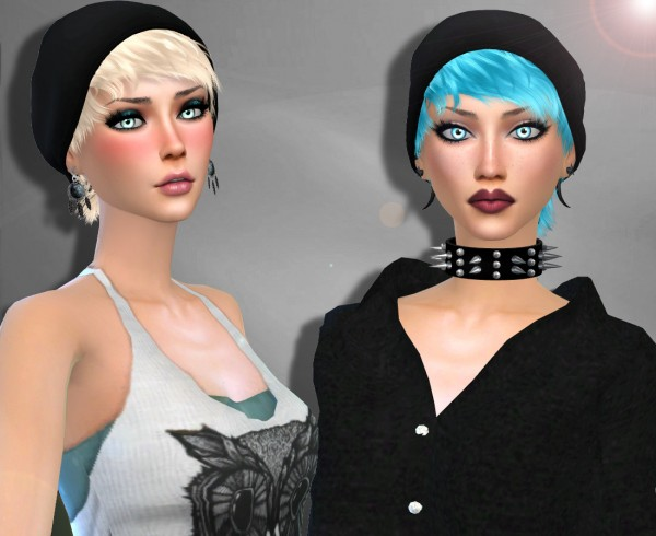 Genius6613: Stealthic`s Psycho hair retextured for Sims 4