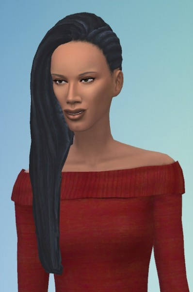 Birksches sims blog: Long Dreadlocks for Sims 4