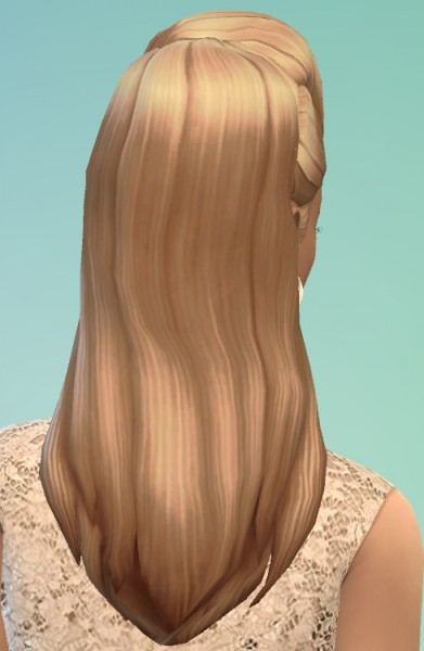 Birksches sims blog: Beyonce Hairstyle for Sims 4