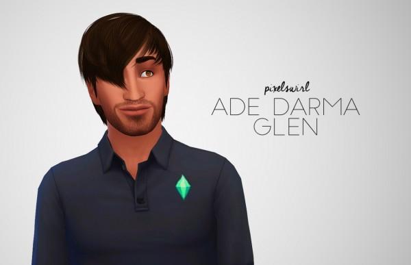 Swirl Goodies: Ade Darma Hair Dump for Sims 4