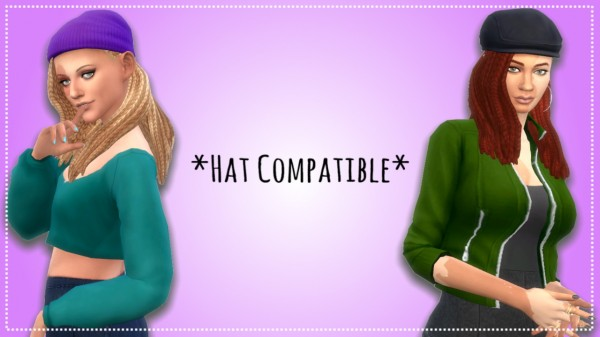 Leelee Sims: Accomplished Hair for Sims 4