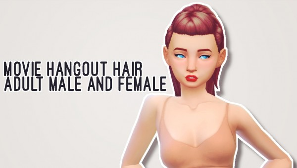 Butternut Gnocchi: Pack hair retextured for Sims 4